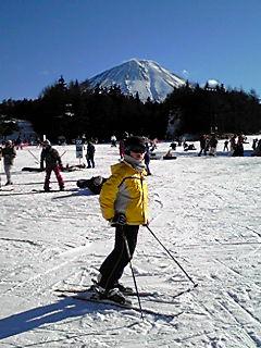 富士山からおめでとう!